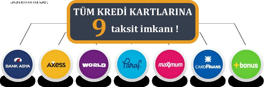 Kredi kartı 9 taksit imkanı nakliyeilani.com